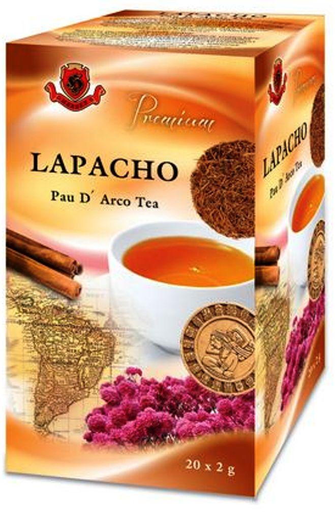 Fotografie Herbex Lapacho čaj pro zvýšení imunity 20 x 2 g