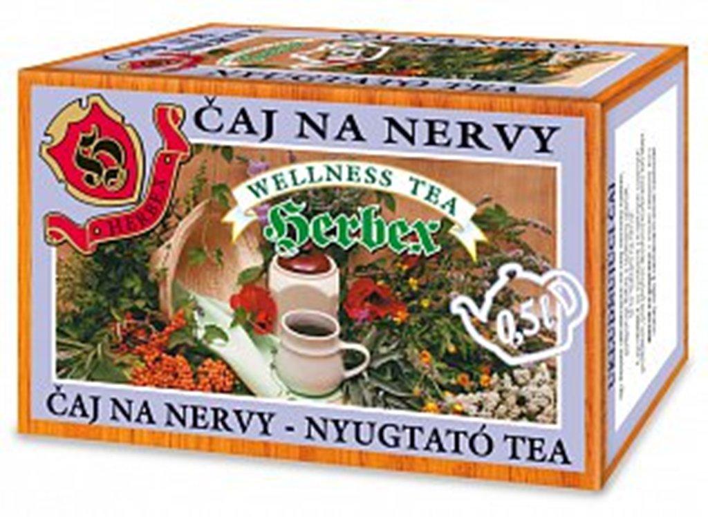 Herbex Na nervy čaj 20 x 3 g