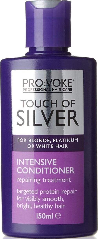 Fotografie Pro:Voke Touch of Silver Intenzivní kondicionér na platinové a bílé vlasy 150 ml