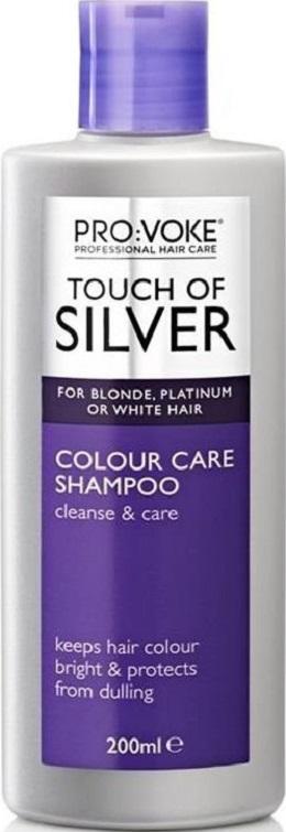 Fotografie Pro:Voke Touch of Silver šampon na osvěžení barvy Pro blond, šedé nebo bílé vlasy s optickým zjasňováčem i200 ml