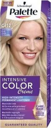 Fotografie Schwarzkopf Palette Intensive Color Creme barva na vlasy CI12 Super platinová blond