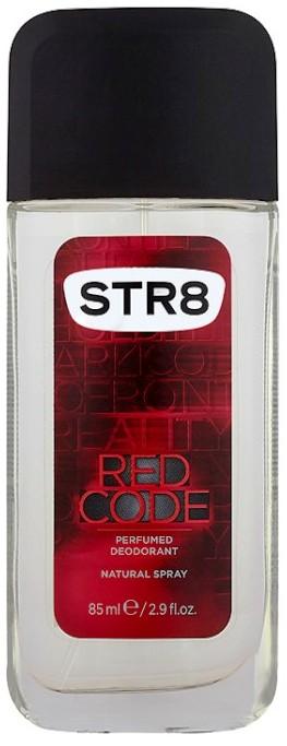 Str8 Red Code parfémovaný deodorant sklo pro muže 85 ml