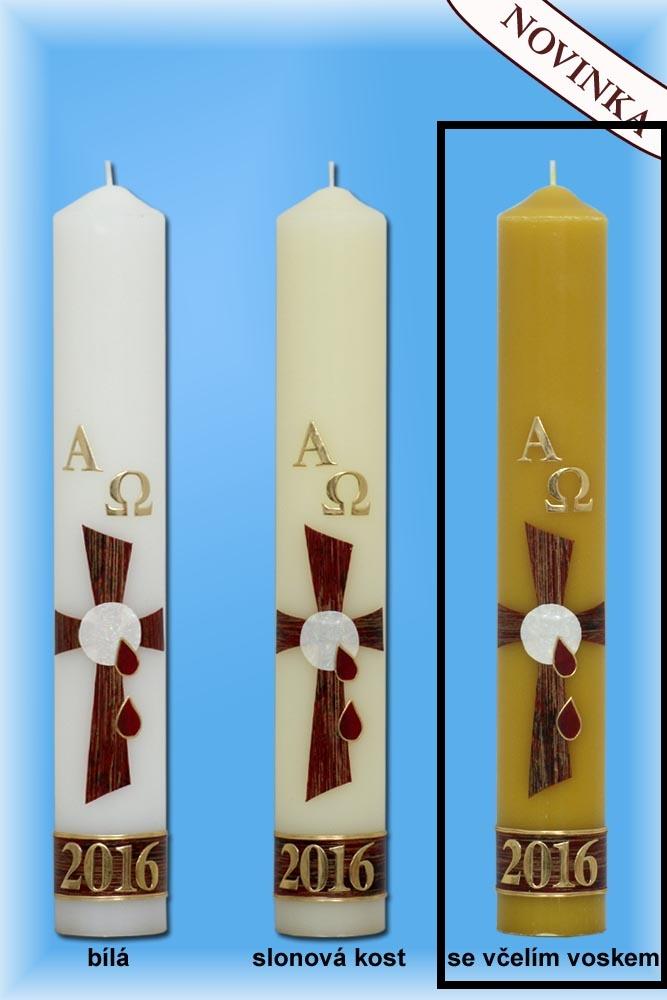 Lima Paškál Luxus včelí vosk svíčka 60 X 400mm 1kg 1 kus