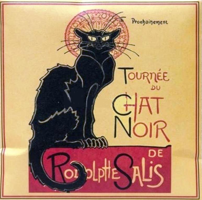 Le Blanc Chat Noir aroma sáček do skříně, aut 11 x11 cm 8 g