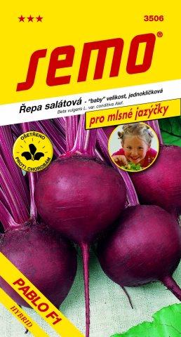 Semo Řepa červená salátová Pablo F1 - jednoklíčková 60 semen