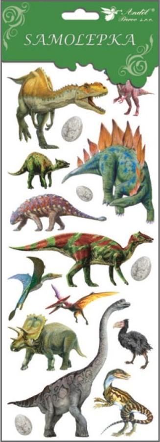 Samolepky 1251 dinosauři 34,5x12,5 cm