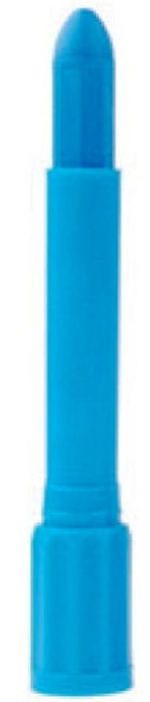 Amos Face Deco barvy na obličej v tubě světle modrá se rtěnkovým uzávěrem 4,7 g