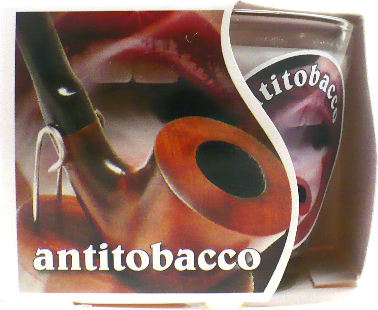 MaP Antitobacco aromatická svíčka ve skle 80 g