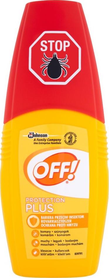 Fotografie OFF! Protection Plus repelent s rozprašovačem 100 ml