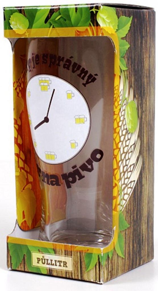 Albi Půllitr v krabičce Vždy je správný čas 500 ml