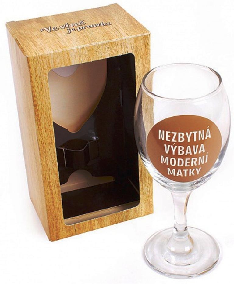 Albi Sklenička na víno Už 50 let Objem: 220 ml