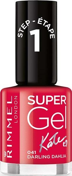 Rimmel London Super Gel by Kate lak na nehty 041 Darling Dahlia 12 ml