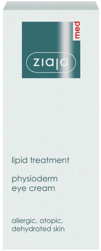 Fotografie Ziaja Med Lipid Care fyziologický krém na oční okolí pro velmi citlivou a alergickou pleť 15 ml