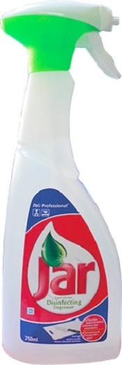Jar Disinfecting Degreaser Kuchyňský dezinfekční odmašťovací prostředek rozprašovač 750 ml