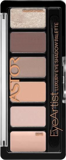 Astor Eye Artist Luxury Eye Shadow Palette paleta očních stínů 100 Cosy Nude 5,6 g