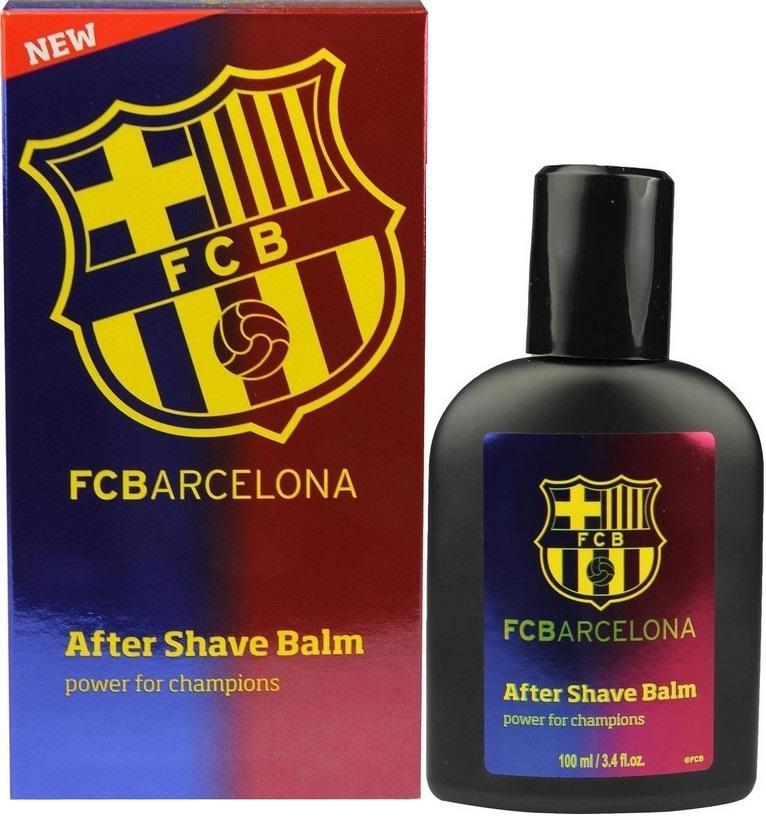 Fotografie EP Line FC Barcelona balzám po holení pro muže 100 ml
