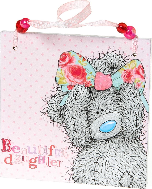 Me to You Plaketka s věnováním Pro krásnou dceru 11 x 11 x 0,5 cm