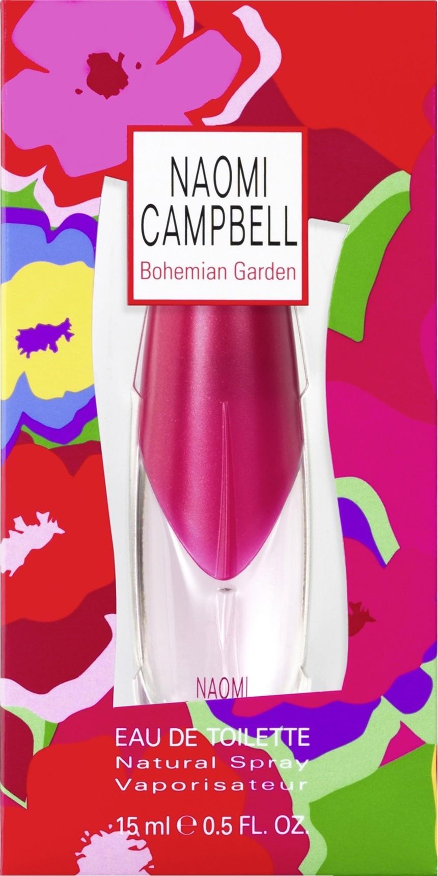 Fotografie Naomi Campbell Bohemian Garden toaletní voda pro ženy 15 ml