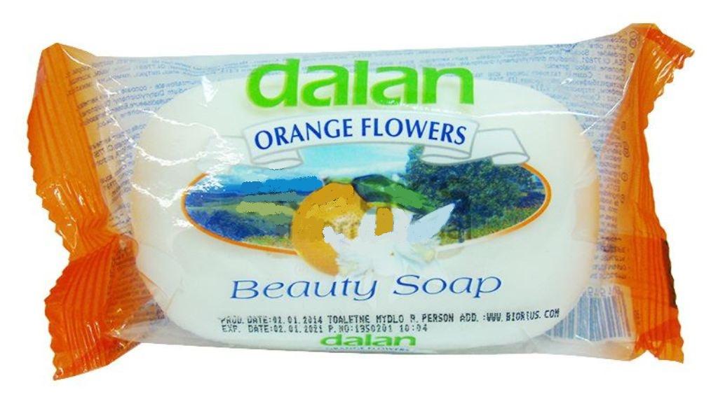Fotografie Dalan Orange Flowers toaletní mýdlo 90 g
