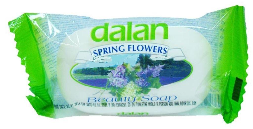 Fotografie Dalan Spring Flowers toaletní mýdlo 90 g