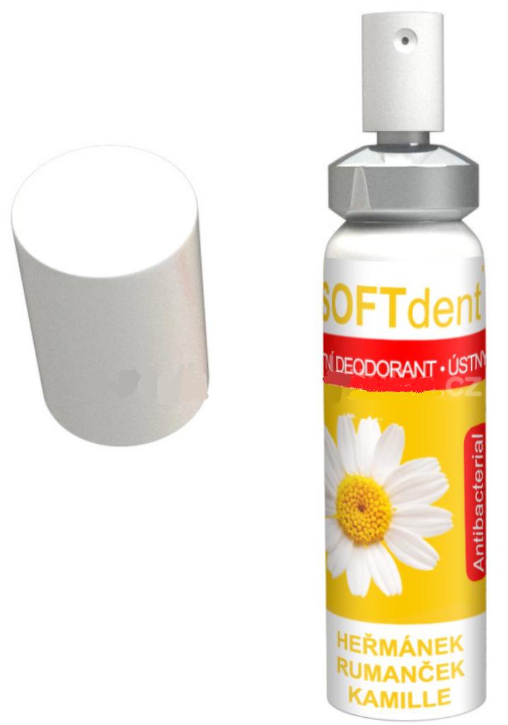 Fotografie Soft Dent Heřmánek ústní deodorant 20 ml