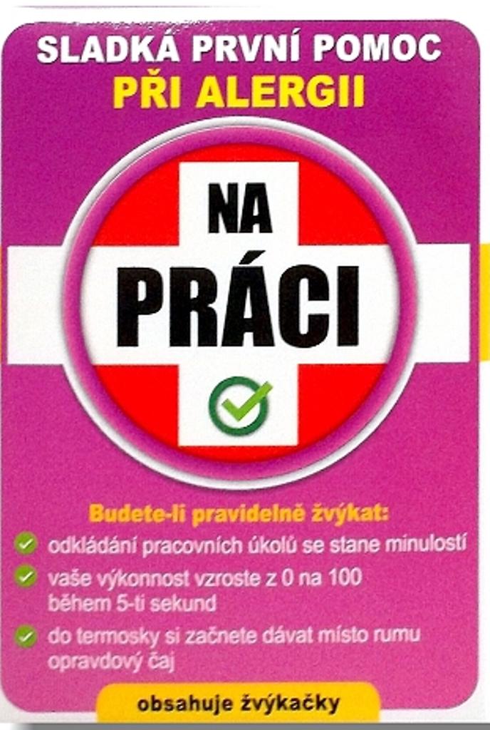 Nekupto Sladká první pomoc 2 Ovocné žvýkačky při alergii Na práci 10 ks 005