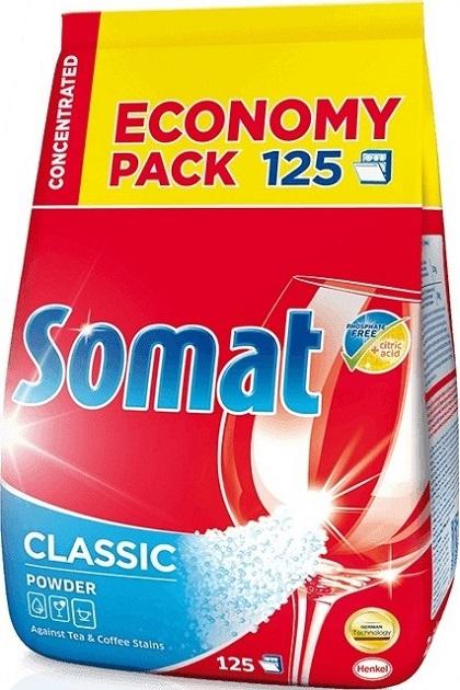 Somat Classic Powder prášek do myčky na nádobí 125 dávek 2,5 kg