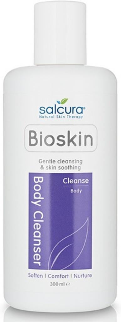Fotografie Salcura Bioskin Cleanse Body Cleanser sprchový gel pro suchou a citlivou pleť 300 ml