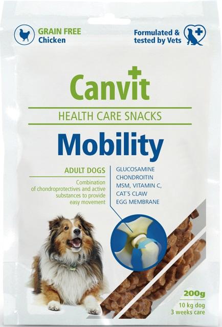 Fotografie Canvit Health Care Snacks Mobility Pamlsek pro psy s pohybovými obtížemi 200 g