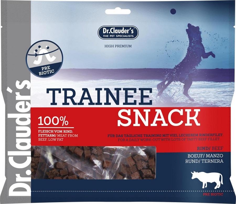 Dr. Clauders Trainee Snack Hovězí sušené kostičky 100% maso 500 g