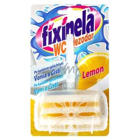 Fixinela WC Dezodor Lemon závěs komplet 50 g