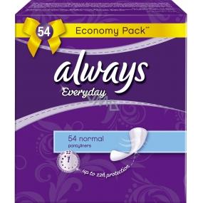 Always Everyday Normal slipové intimní vložky 54 kusů