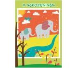 Ditipo Hrací přání k narozeninám Sloni Svěrák, Uhlíř Neopouštěj 224 x 157 mm