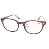 Berkeley Čtecí dioptrické brýle +2 hnědé 1 kus MC2 ER4048