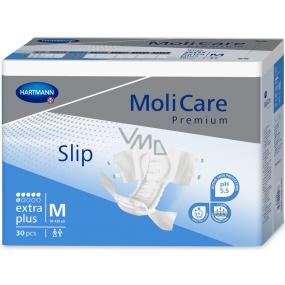 MoliCare Premium Extra Plus M 90-120 cm zalepovací plenkové kalhotky pro těžký stupeň inkontinence 30 kusů