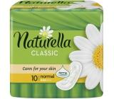 Naturella Classic Normal hygienické vložky s jemnou vůní heřmánku 10 kusů