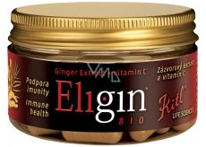 Kitl Eligin Bio extra silný zázvor na podporu imunity s vitamínem C 40 kapslí
