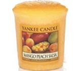 Yankee Candle Mango Peach Salsa - Salsa z manga a broskví vonná svíčka votivní 49 g