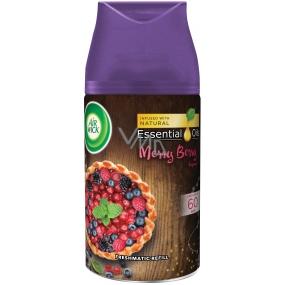 Air Wick FreshMatic Essential Oils Merry Berry - Vůně zimního ovoce automatický osvěžovač náhradní náplň 250 ml