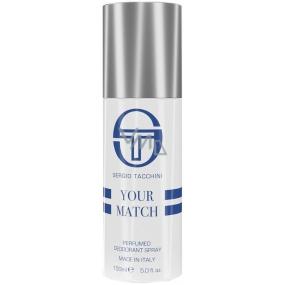 Sergio Tacchini Your Match deodorant sprej pro muže 150 ml