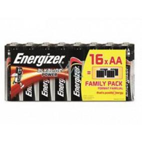 Energizer Baterie AA / LR6 Alkaline Power 16 kusů