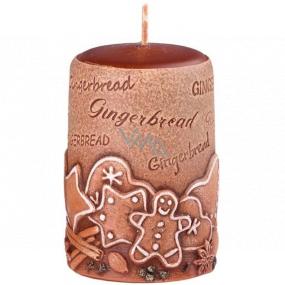 Emocio Perník Gingerbread vonná svíčka válec 50 x 80 mm
