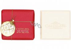 Castelbel Red Berries - Červené bobule vánoční toaletní mýdlo s rolničkou 150 g