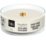 WoodWick Solar Ylang - Sluneční Ylang vonná svíčka s dřevěným knotem petite 31 g