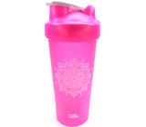 Albi Shaker Mandala růžový 700 ml