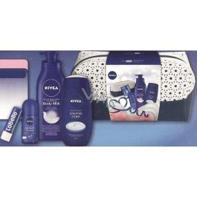 Nivea Men Creme Care tělové mléko 400 ml + sprchový gel 250 ml + antiperspirant roll-on 50 ml + balzám na rty 4,8 g, kosmetická sada