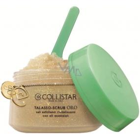 Collistar Talasso Scrub Gold revitalizační peeling obohacený o částečky zlata 300 g
