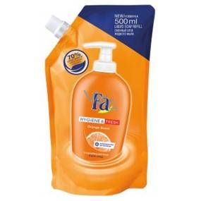 Fa Hygiene & Fresh Orange Scent tekuté mýdlo náhradní náplň 500 ml