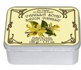 Le Blanc Vanille - Vanilka přírodní mýdlo tuhé v krabičce 100 g
