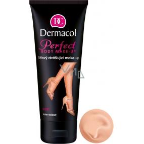 Dermacol Perfect voděodolný zkrášlující tělový make-up odstín Ivory 100 ml